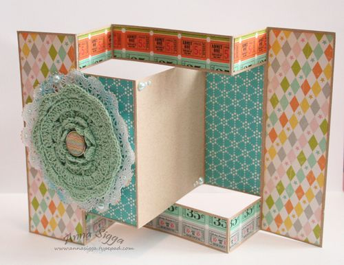 Tri-fold - crochet cl2