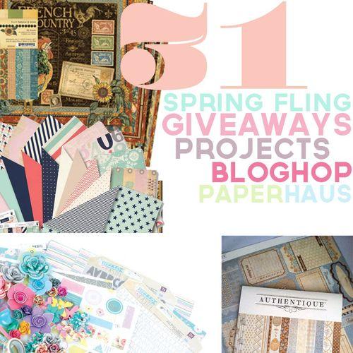 Spring fling bloghop