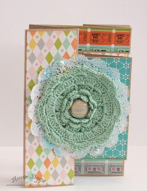 Tri-fold - crochet